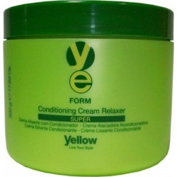 Yellow Form Conditioning Cream Relaxer SUPER 500g /17.63oz