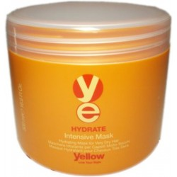 Yellow Hydrate Intensive Mask 16.9 Oz./500 ml. (For very dry hair)