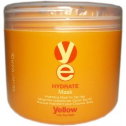Yellow Hydrate Mask 16.9 Oz. /500 ml. (For dry hair)