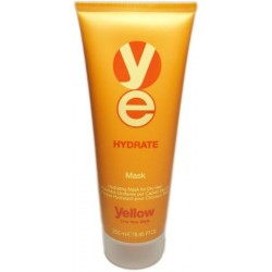 Yellow Hydrate Mask 8.45 Oz./250 ml. (For dry hair)