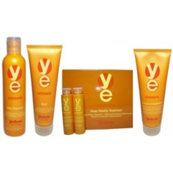 Yellow Hydrate Small Group of 4 For Very Dry Hair