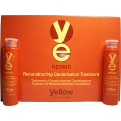Yellow Repair Yellow Repair Tratamiento de Reconstruccion por Cauterizacion (Caja: 6 Vials de 0.43 Oz.)