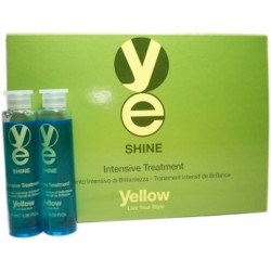 Yellow Shine Tratamiento Intensivo (6 Vials de 0.50 Fl Oz.)