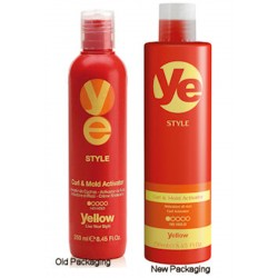 Yellow Style Curl and Mold Activator 8.45 oz.