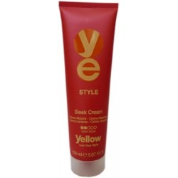Yellow Style Sleek Cream Light Hold 150 ml./ 5.07 oz.