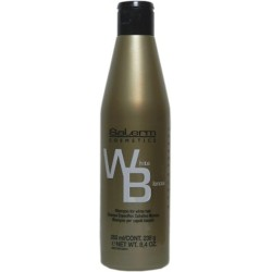 Salerm Champú Para Cabello Blanco 8.4 Oz. 250 ml.