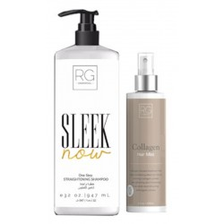RG Cosmetics Sleek Now Straightneing Kit (Shampoo 1000ml/Mist 250ml)