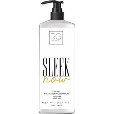 RG Cosmetics Sleek Now One Step Straightening Shampoo 1000ml/32Oz