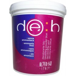 Alter Ego Deb Bleaching Powder Blue Ammonia Free 500gr / 17.6oz (For Streaks and Highlights)