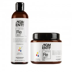 Alfaparf Milano Pigments Reparative Shampoo 6.76oz and Mask 6.91 oz duo