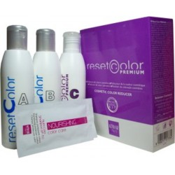 Alter Ego Reset Color Premium Professional Kit 3 Bottles A+B+C 150ml/5.07oz each and 2 Nutri Color Shampoo 15ml/0.5.07oz