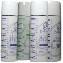 Bio Naza KeraHair Group 16 oz (1)Purifying 1)KeraHair Keratin 1)Daily Shampoo 1)Daily Conditioner