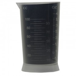 Transparent Plastic Measuring Cup (0-100 CC and 0-4 oz)
