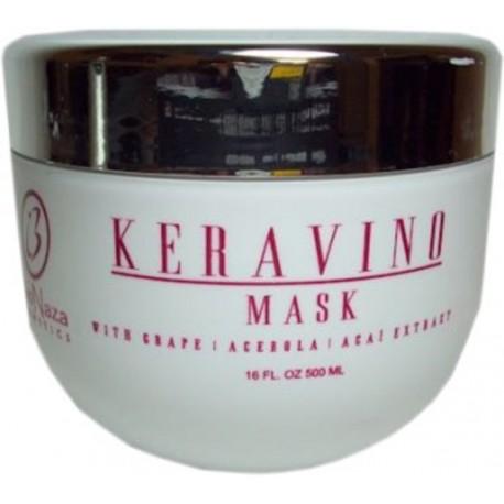 BioNaza Keravino Mask with Grape, Acerola, Acai Extract 16oz / 500ml