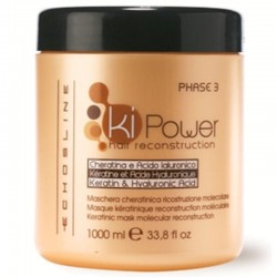 Echosline Ki-Power Keratinic Mask Hair Reconstruction 1000ml/33.8oz (phase 3)
