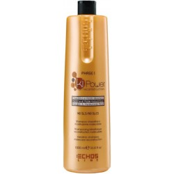 Echosline Ki-Power Champu Queratinico Reconstruccion 1000ml/33.8oz