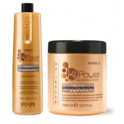Echosline Ki-Power Queratinico Duo Kit 1000 ml. 1)Champu & 1)Mascara