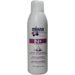 Echosline Mirna N+ Champu Nutritivo Ajo, Algodon y Girasol 1000 ml / 33.8 oz