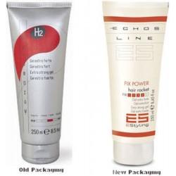 Echosline H2/Echosline ES Fix Power Hair Rocket- Extra Strong Gel 250ml/8.5oz