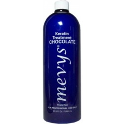 Mevys Tratamiento Alisante de Queratina Chocolate 33.8 oz. (para Cabellos Gruesos)