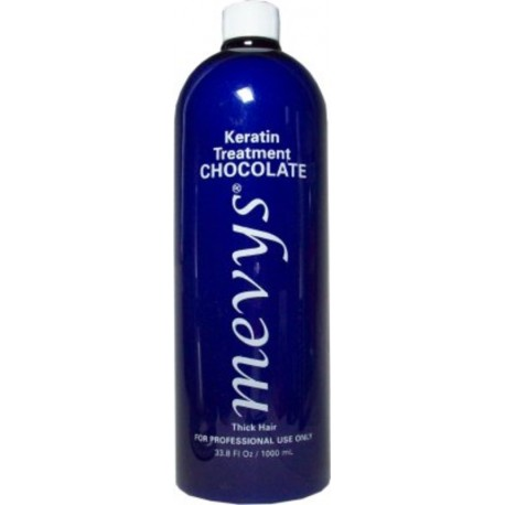 Mevys Chocolate Keratin Smoothing Treatment 33.8oz (for thick hair and tight curls)