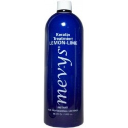 Mevys Lemon-Lime Keratin Smoothing Treatment 33.8 0z.(rinsed off in the same day)
