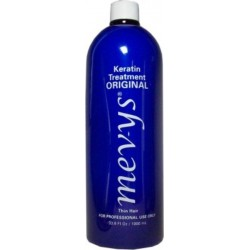 Mevys Original Keratin Smoothing Treatment 33.8 oz. (for thin hair and soft curls)