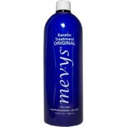 Mevys Tratamiento Alisante Queratina Original 33.8 oz (para cabello fino y rizos suaves)