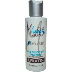 Milano Keratin Chocolate Hair Smoothing Treatment 4oz