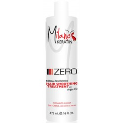 Milano Keratin Zero Formaldehyde Free with Argan Oil 473ml/16oz