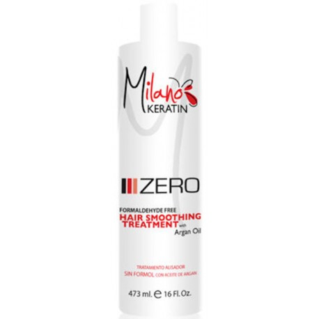Milano Keratin Zero Formaldehyde Free with Argan Oil 473ml/16oz