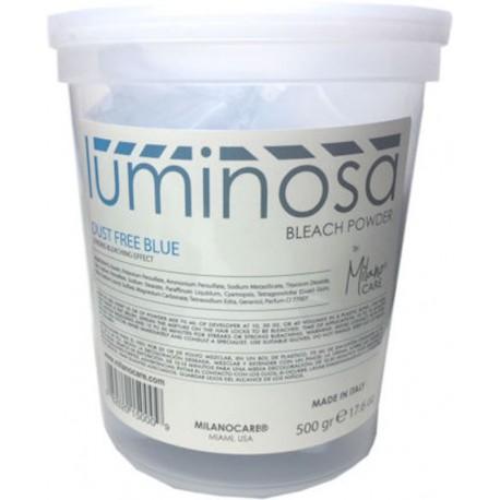 Milano Care Luminosa Bleach Powder Dust Free Blue 500gr/17.6oz