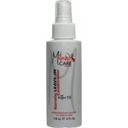 Milano Care Keratin Leave-In Conditioner with Argan Oil 118ml/4oz