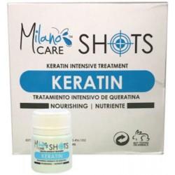 Milano Care Shots Tratamiento Intensivo de Queratina (12 shots 1.69oz each)