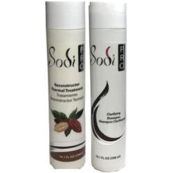 SODI PRO Smoothing Treatment- Chocolate Keratin Kit 298ml/10.1oz (2 items)