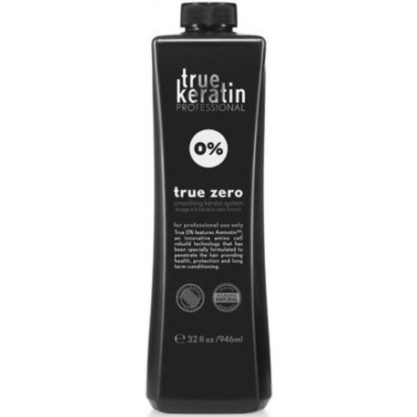 True KeratinTrue Keratin True Zero Smoothing Keratin Treatment 0% Formaldehyde 946ml/32oz