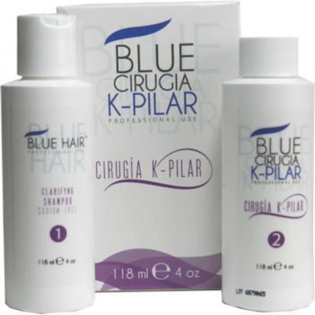 Blue Hair Cirugia K-Pilar Kit 4oz