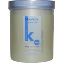 Salerm Keratin Shot Deep Impact Plus Mask 1000ml/34.5oz