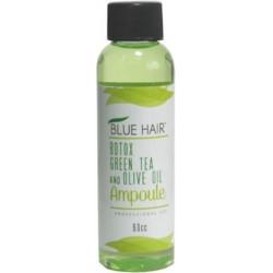 Blue Hair Botox Ampoule Té Verde y Aceite de Oliva 60cc