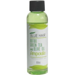 Blue Hair Botox Green Tea and Olive Oil Ampoule 60cc