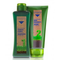 Salerm Biokera Natura Moisturising (1) Shampoo 300 ML/ 10.8 Oz- (1) Mask 200ml / 7.1oz (Dry Hair)