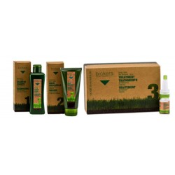 Salerm Biokera Natura Specific Oily Hair-(1)Shampoo 10.8oz-(1) Mask 6.9oz-(1)Treatment 6x10ml